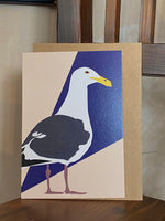 Greetings Card Sammy The Seagull 038
