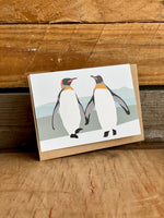 Greetings Card Peter and Paul The Penguins 034