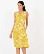 sunny becky dress in yellow mustard - summer dresses pretty vacant - side