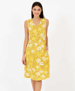sunny becky dress in yellow mustard - summer dresses pretty vacant