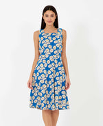 Brook daisy print dress - vintage style floral dress