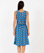 Brook Dress Flower Chain Print