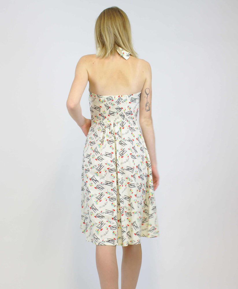 Candy Mail Print Dress