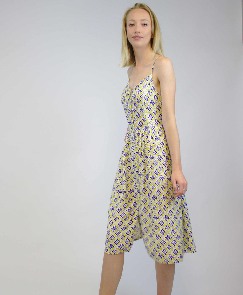 Chloe Dress Tails Print