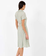Pretty Vacant Debbie cosmos dress - 60s midi shirt dress - back of dress