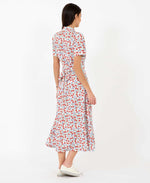 Jonie Dress Bows Print