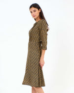 Marcie Dress Pegs Print