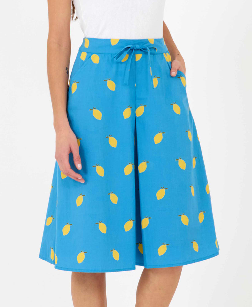 Tina Skirt Lemon Print