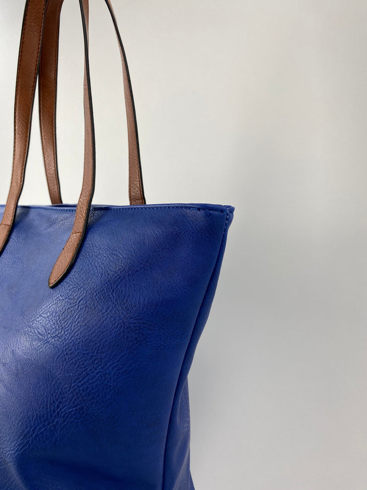 Royal blue Tote bag 2881