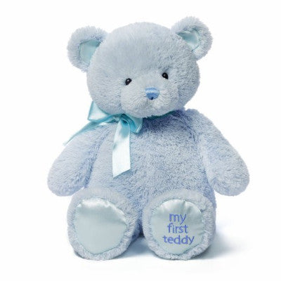 1st Teddy pink, blue or cream