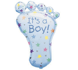 Baby Boy - Large Foot