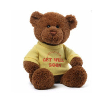 Get Well T Shirt Bear