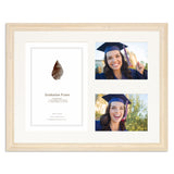 White Shabby Chic Graduation Frame