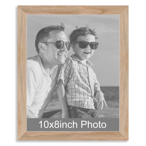 10 x 8inch Solid Oak Photo Frame for a 10x8/8x10in image