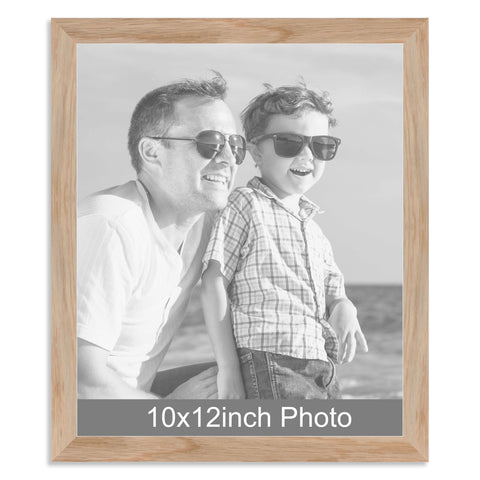 10 x 12inch Solid Oak Photo Frame for a 10x12/12x10in photo