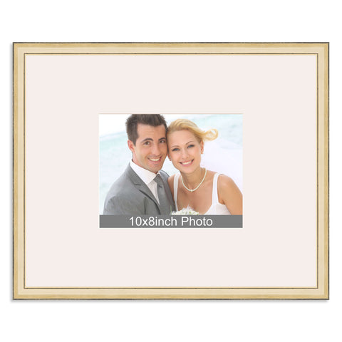 Gold Wedding & Special Occasion Signing Frame for a 10x8/8x10in Photo
