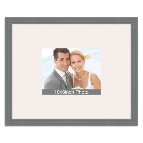 Grey Wedding & Special Occasion Signing Frame for a 10x8/8x10in Photo