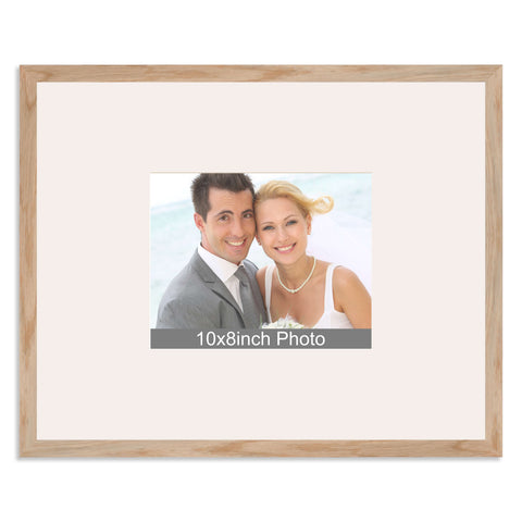 Solid Oak Wedding & Special Occasion Signing Frame for a 10x8/8x10in Photo