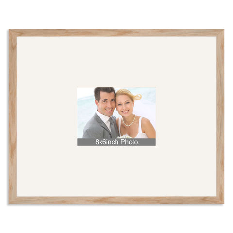 Solid Oak Wedding & Special Occasion Signing Frame for a 8x6/6x8in Photo