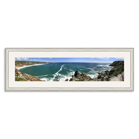 Silver Wooden Panoramic Photo Frame for a 27x6/6x27in Photo [9:2 Ratio]