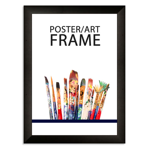 210 x 297mm A4 Matt Black Poster / Art Frame with real Picture Glass