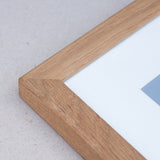 Close up image of 20mm Solid Oak frame