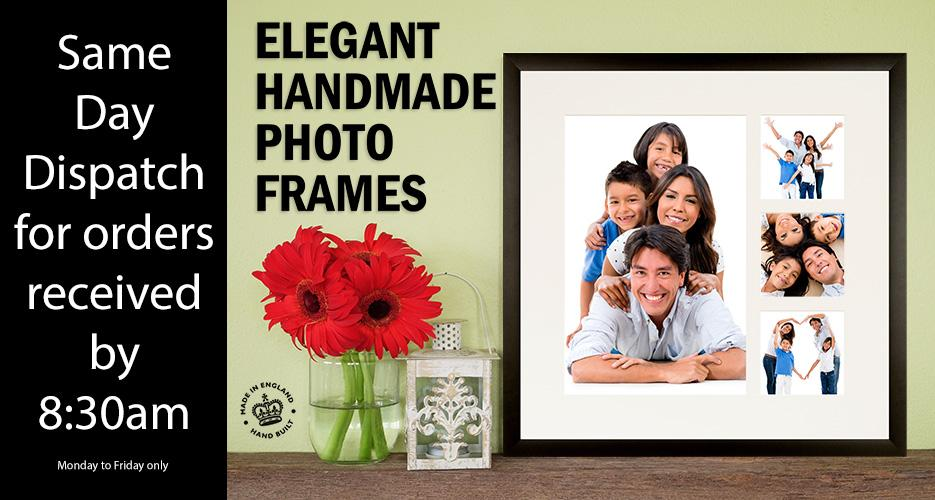 Send beautiful framed pictures - treasured gifts
