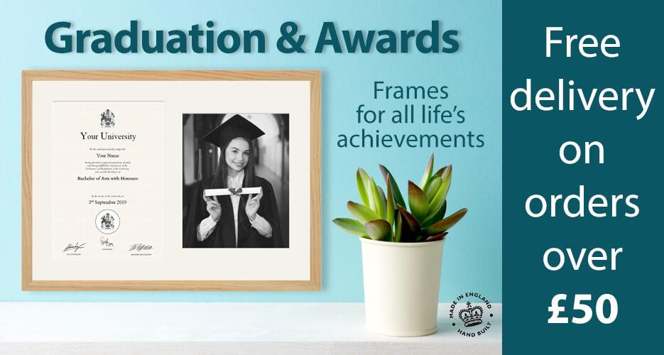 A Great range of Graduation Frames