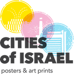 Cities of Israel: Posters by Ron Nadel