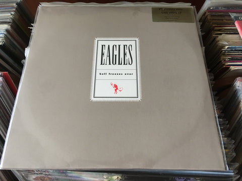 EAGLES - Hell Freezes Over 2LP 33⅓rpm (Out Of Print) (Graded:S/S)