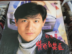 Andy Lau / 劉德華 - 情感的禁區 CW/Lyrics 33⅓rpm (Out Of Print) (Graded: NM/EX)