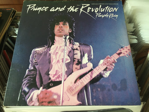 "Prince - Purple Rain 12"" Limited Purple Maxi-Single 45rpm (Out Of Print) (Graded:EX/VG)"