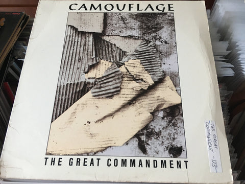 "Camouflage - The Great Commandment 12"" Single 33⅓rpm (Out Of Print) (Graded:EX/EX)"