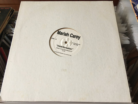 "Mariah Carey - Heartbreaker 12"" Promo Single 33⅓rpm (Out Of Print) (Graded:Generic/NM)"