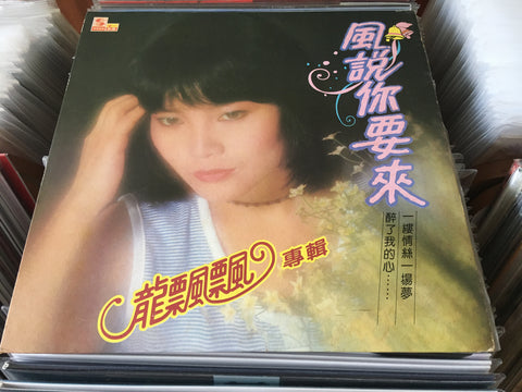 Long Piao Piao / 龍飄飄 - 風說你要來 CW/Lyrics LP 33⅓rpm (Out Of Print) (Graded: EX/NM)