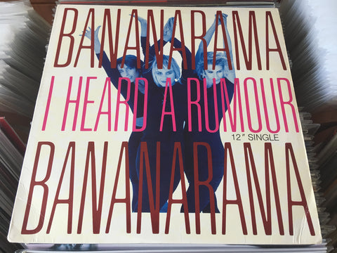 "Bananarama - I Heard A Rumour 12"" Single 33⅓rpm (Out Of Print) (Graded:NM/EX)"