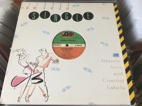 "Debbie Gibson ‎– Foolish Beat 12"" Promo Single 33⅓rpm (Out Of Print) (Graded:NM/NM)"