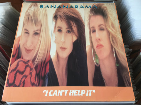 "Bananarama ‎– I Can't Help It 12"" Single 33⅓rpm (Out Of Print) (Graded:NM/NM)"