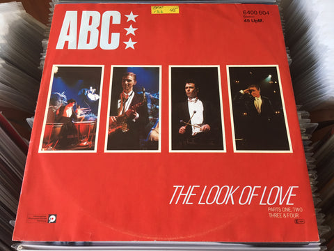 "ABC ‎– The Look Of Love (Parts One, Two, Three & Four) 12"" Maxi-Single 45rpm (Out Of Print) (Graded:NM/EX)"