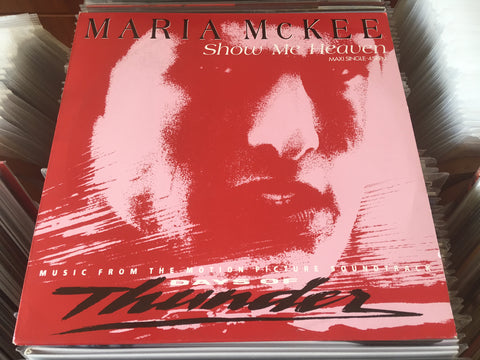 "Maria McKee ‎– Show Me Heaven 12"" Maxi-Single 45rpm (Out Of Print) (Graded:NM/NM)"