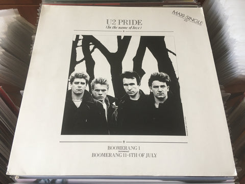 "U2 ‎– Pride (In The Name Of Love) 12"" Maxi-Single 45rpm (Out Of Print) (Graded:NM/EX)"