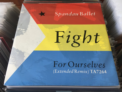 "Spandau Ballet ‎– Fight For Ourselves 12"" Single 45rpm (Out Of Print) (Graded:NM/NM)"