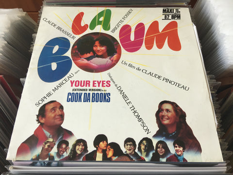 "Cook Da Books ‎– Your Eyes 12"" Maxi-Single 45rpm (Out Of Print) (Graded:NM/EX)"