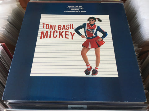 "Toni Basil ‎– Mickey 12"" Single 33⅓rpm (Out Of Print) (Graded:NM/EX)"