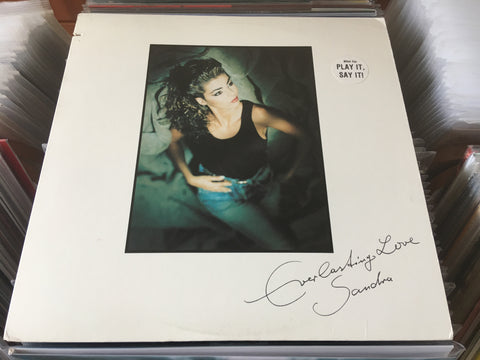 "Sandra - Everlasting Love12"" Promo Maxi-Single 33⅓rpm (Out Of Print) (Graded:VG/EX)"