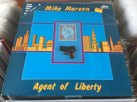 "Mike Mareen - Agent Of Liberty 12"" Maxi-Single 45rpm (Out Of Print) (Graded:NM/EX)"
