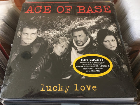 "Ace Of Base - Lucky Love 12"" Maxi-Single 33⅓rpm (Out Of Print) (Graded:S/S)"