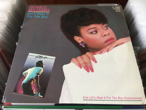 "Deniece Williams ‎– Let's Hear It For The Boy 12"" Single 33⅓rpm (Out Of Print) (Graded:NM/NM)"
