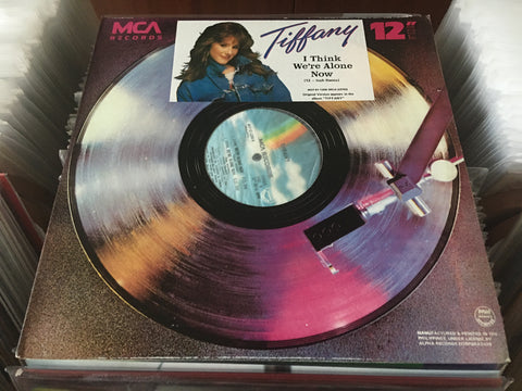 "Tiffany - I Think We're Alone Now 12"" Single 33⅓rpm (Out Of Print) (Graded:NM/EX)"