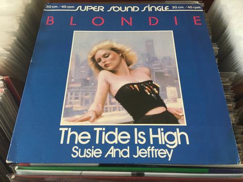 "Blondie - The Tide Is High 12"" Single 45rpm (Out Of Print) (Graded:NM/EX)"
